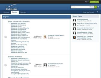 forum.bitdefender.com screenshot