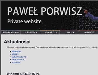 pawelporwisz.pl screenshot