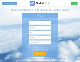 Thumbshot of Todo-cloud.com