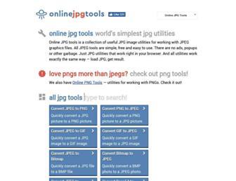 onlinejpgtools.com screenshot