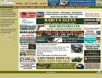 milweb.net screenshot