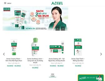 acnes.com.vn screenshot