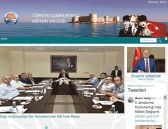 mersin.gov.tr screenshot
