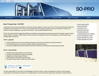 solar-process-heat.eu screenshot