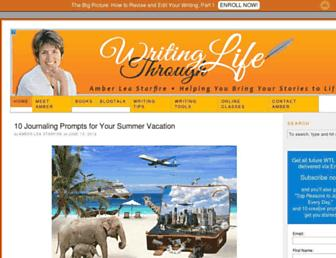 writingthroughlife.com screenshot