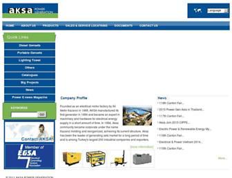 aksapowergen.com screenshot