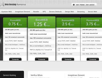 Thumbshot of Romania-webhosting.com