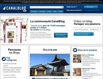 Thumbshot of Canalblog.com