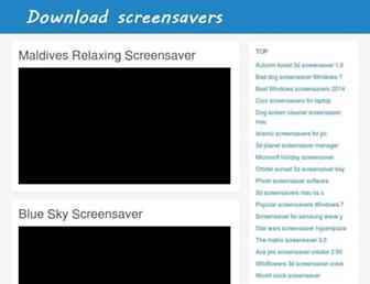 download-screensavers.biz screenshot