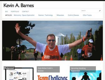 kevinabarnes.com screenshot