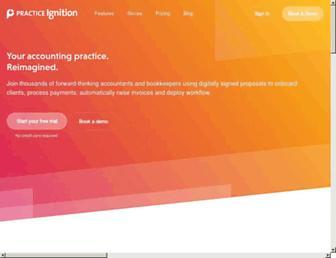 practiceignition.com screenshot