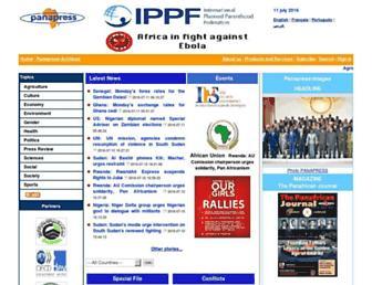 panapress.com screenshot