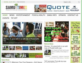 Thumbshot of Samuitimes.com
