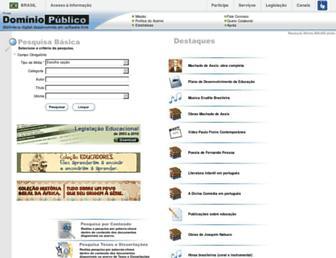 dominiopublico.gov.br screenshot