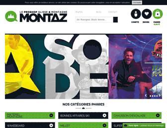 montaz.com screenshot