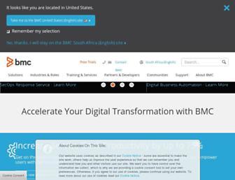 bmcsoftware.co.za screenshot