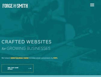 forgeandsmith.com screenshot