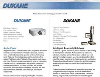 dukane.com screenshot