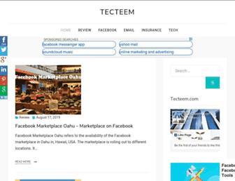 tecteem.com screenshot