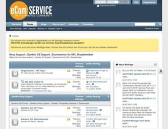 ecomservice.de screenshot