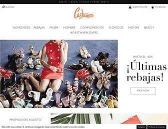 castaner.com screenshot