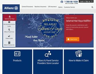 allianz.com.my screenshot