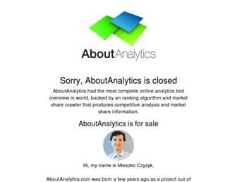 Thumbshot of Aboutanalytics.com
