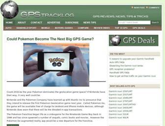 gpstracklog.com screenshot