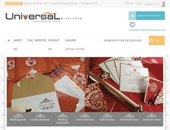 Thumbshot of Universalweddingcards.com