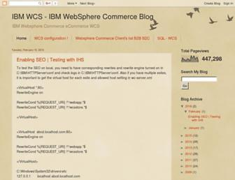 ibmwcs.com screenshot
