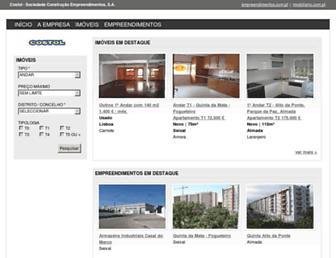 Main page screenshot of costol.pt