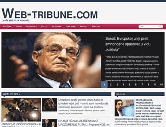 web-tribune.com screenshot