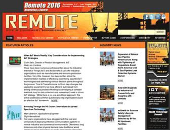 remotemagazine.com screenshot