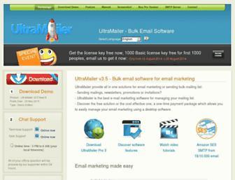 Thumbshot of Ultramailer.org