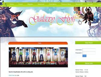 galaxyflyff.com screenshot