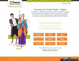 pioneerdrama.com screenshot