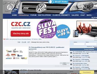 Thumbshot of Vw-club.cz