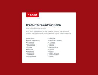 exact.com screenshot