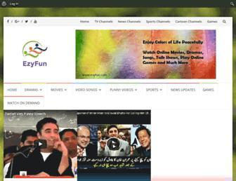 ezyfun.com screenshot