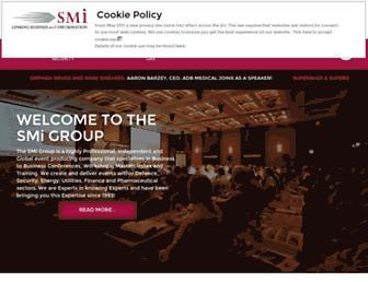 Main page screenshot of smi-online.co.uk