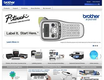 Thumbshot of Brother-usa.com