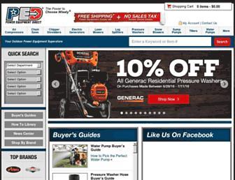 Thumbshot of Powerequipmentdirect.com