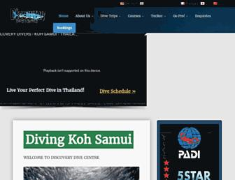 discoverydivers.com screenshot