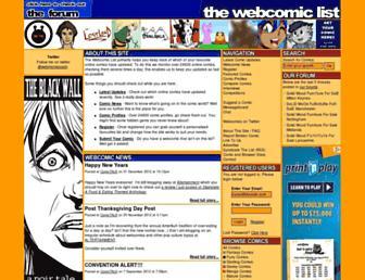 Thumbshot of Thewebcomiclist.com