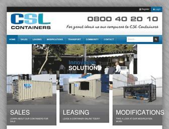 container.co.nz screenshot