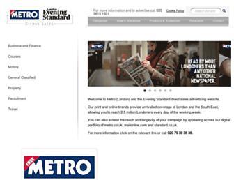metroclassified.co.uk screenshot