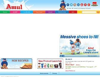 Thumbshot of Amul.com