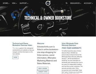 volvotechinfo.com screenshot