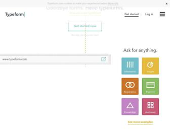 Thumbshot of Typeform.com