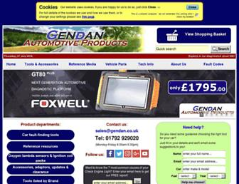 gendan.co.uk screenshot